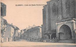 ELORRIO - CALLE DEL BEATO BERRIO-OCHOA ~ AN OLD POSTCARD #94670 - Vizcaya (Bilbao)