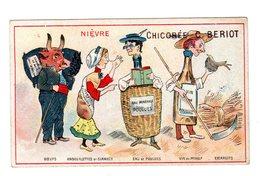 Chromo France Gastronomique, Nièvre, Vin, Escargots..., Chicorée Bériot, Lille - Chromo