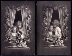 2 X JEUNE AMOUR - LE TEMPS DES CERISES - YOUNG LOVE - FILLETTE - GARCON - Portraits