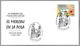 MERCADO EN LA POLA - MARKET. Pola De Siero, Asturias, 2004 - Alimentación