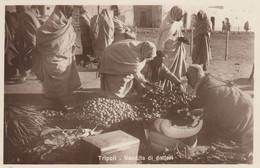 12645-TRIPOLI(LIBIA)-VENDITA DI DATTERI-EX COLONIE ITALIANE-FP - Libya