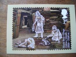 Ancienne Bretagne, Ancient Britain Skara Brae Village Îles Orkney Islands 3100 BC Préhistorique - Stamps (pictures)