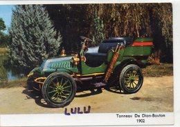 TRANSPORTS 409 : Tonneau De Dion-Bouton 1902 - Cartes Postales