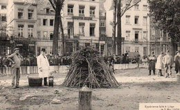 Liège Extincteur César Expérience Faite à Liège Le 3 Mai 1909 Animée Circulé En 1909 - Liege