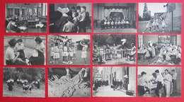 34 Montpellier 21 Cartes Postales Institution Sourds-muets Et Jeunes Aveugles Sports Métiers Classes édit Lescuyer Lyon - Montpellier