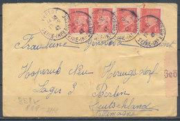 FRANCE - 17.9.1942, Cover YVETOT - Lager BERLIN, Censored - 1921-1960: Modern Period