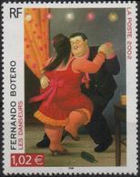FRANCE Poste 3482 ** Tableau Fernando BOTERO : Les Danseurs - Unused Stamps