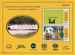 247 - Laos 2001  BF 154 ; Block 184 **  MNH  éradication De La Polio Au Laos - Laos