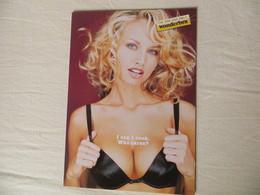 CPM Publicitaire Lingerie WONDERBRA Pin Up Blonde Sexy  Ed Boomerang - Pubblicitari