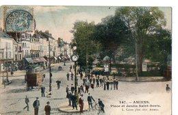 347 - AMIENS - Place Et Jardin Saint-Denis - Amiens