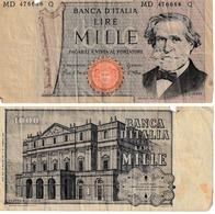 Italie 1000 Lires - Italia