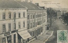 Herbesthal Lontzen Partie Von Der Neutralen Strasse  Bahnhof Cancel Coln Edit Poensgen Welkenraedt - Lontzen