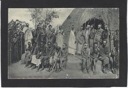 CPA Ruanda Afrique Noire Musinga Le Roi Royalty Voir Scan Du Dos Belgique Allemagne - Rwanda