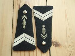 Ancienne Paire De Pattes D'épaules Gendarmerie Départementale - Militaria