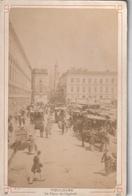 Photo Ancienne - Toulouse ; Place Du Capitole (dos Rigide) - Antiche (ante 1900)