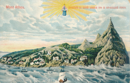 Grèce : Mont Athos - Illustration - Greece