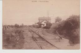 Allier LE PIN Vue De La Gare - Autres Communes