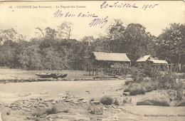GUYANE - CAYENNE (SES ENVIRONS) LE DEGRAD DES CANNES (en L'état) - Cayenne