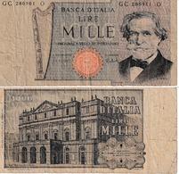 Italie 1000 Lires - [ 2] 1946-… : République
