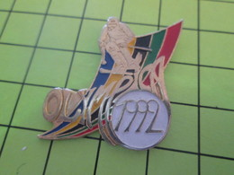 910d Pin's Pins / Beau Et Rare : THEME : JEUX OLYMPIQUES / Grand Pin's OLYMPICA SKI 1992 ALBERTVILLE - Olympic Games