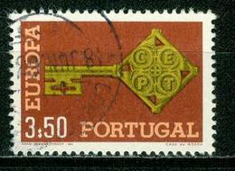BM Portugal 1968 MiNr 1052 Used | Europa Cept - 1910-... République