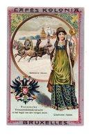 Chromo Costumes Russe, Cafés Kolonia, Bruxelles, Serie 2, N° 8 - Trade Cards