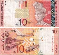 Malaysie 10 Ringgits - Malaysia
