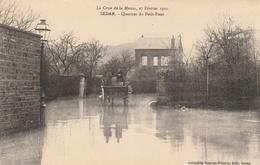 La Crue De La Meuse, 23 Février 1910 -  Quartier Du Petit-Pont - Sedan