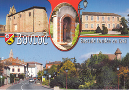 31 BOULOC / MULTIVUES - BASTIDE FONDEE EN 1242 --... - Sonstige Gemeinden