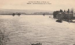 La Crue De La Meuse, 23 Février 1910 -  Les Débordements Dans La Prairie - Sedan