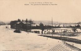 La Crue De La Meuse, 23 Février 1910 -  Vue Générale Des Inondations Au Petit-Pont - Sedan