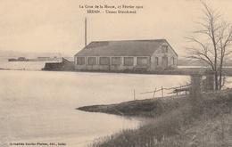 La Crue De La Meuse, 23 Février 1910 -  Usines Dieudonné - Sedan