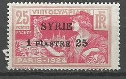 SYRIE  N° 123  NEUF** Gom D'origine SANS CHARNIERE / MNH - Syria (1919-1945)