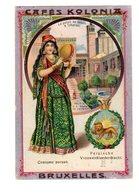 Chromo Costumes De Persie, Orient, Cafés Kolonia, Bruxelles, Serie 2, N° 23 - Chromos