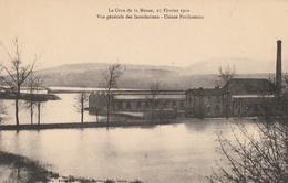 La Crue De La Meuse, 23 Février 1910 - Usines Forthomme - Sedan