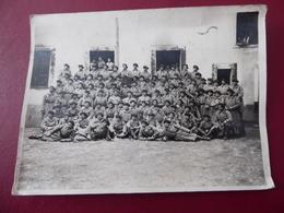 PHOTO  MILITARIA  Guerre  De  14 - 18   Groupe  De  Soldats  Du  129e  CHASSEURS - Guerre, Militaire
