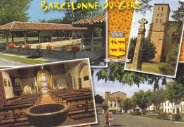32 BARCELONNE DU GERS / MULTIVUES / BLASON - LAVOIR - Autres Communes