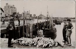 14 - GRANDCAMP-les-BAINS -CPSM -  Retour De Pêche - Bateaux, Pêcheurs - Andere Gemeenten