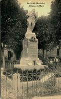 14051 - Ardèche  - CHAMP De MARS   :   Le Monument Aux Morts Animé - France