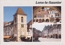 39 LONS LE SAUNIER / MULTIVUES  - TOUR DE L'HORLOGE - ARCADES - Lons Le Saunier
