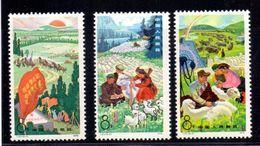 Chine N° 2167 A 2169 Neuf Sans Charniere XX  MNH - 1949 - ... Repubblica Popolare