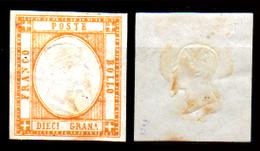 Napoli-F00047 - 1861 - Sassone N. 22 (+) LH - Privo Di Difetti Occulti. - Napoli