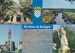 44 SAINTE REINE DE BRETAGNE - MULTIVUES / MEMORIAL RENE GUY CADOU / STATUE DU PERE DE MONFORT - Frankreich