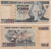 Turquie 25000 Lirasi - Turkey