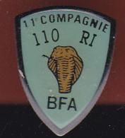 59423-Pin's. Le 110e Régiment D'infanterie.La Brigade Franco-allemande BFA.cobra.serpent. - Army