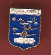 59435-Pin's. 5° Deposito Centrale Novara Aeronautica Militare - Army