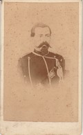 Photo - C.D.V. : Napoleon III : Phot. : BLAIN - Valence - Drome - Guerra, Militari