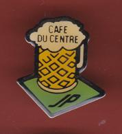 59429-Pin's.café Du Centre.bière. - Bière
