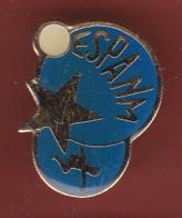 59433-Pin's.E.s.p.a.n.m. Section Gymnastique. à Nice - Gymnastique