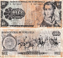 Vénézuéla 10 Bolivares - Venezuela